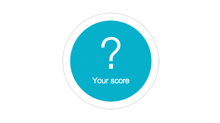 Your score question mark button