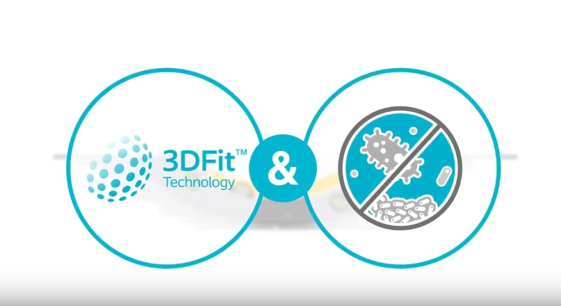 Discover Biatain® Silicone Ag with 3DFit Technology®